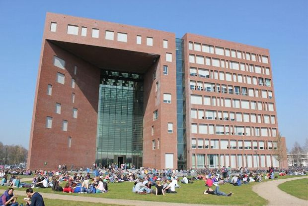 Campus of the Wageningen Universtity