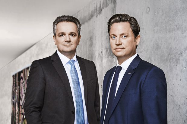 The directors of Bizerba, Stefan Junker and Andreas Wilhelm Kraut (right), chairman and shareholder of Bizerba GmbH & Co. KG.