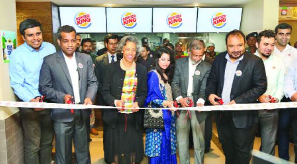 Burger King: Fast Food restaurant opens first outlet in
