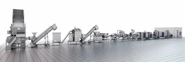 The company offers integrated solutions for processing beef, poultry and pork.