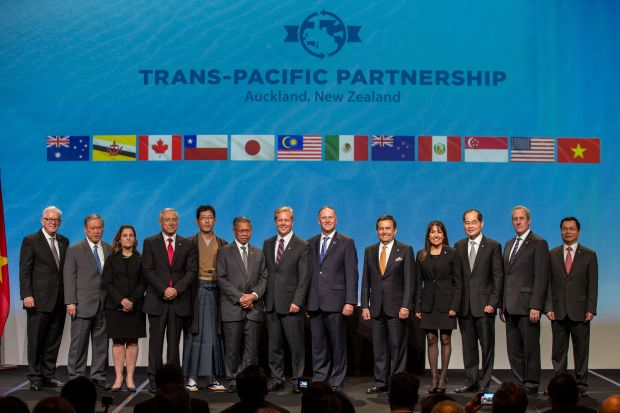 Trade Nz Signs Tpp Agreement