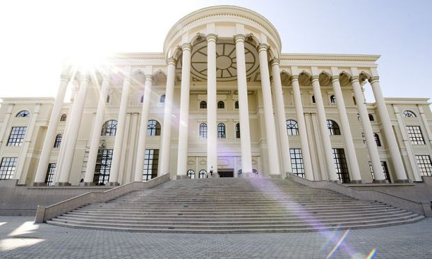 The Presidential Palace of the Republic of Tajikistan is located in Dushanbe.