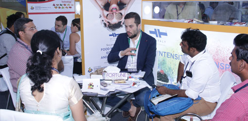 Key visitors from different industry sectors were present during the three-day event.