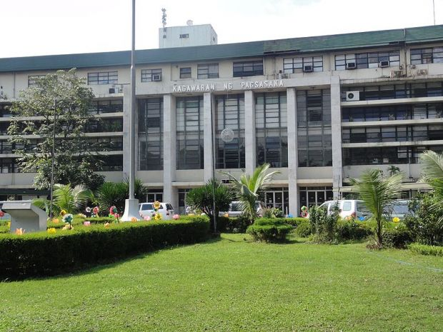 The Department of Agriculture of the Republic of the Philippines is located in Quezon City.