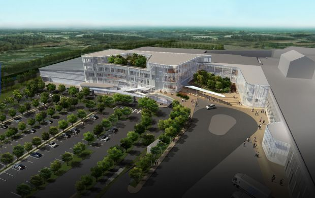 Harim's five story plant in Iksan, South Korea, will feature four new Marel Poultry processing lines.