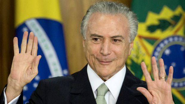Brazil's President Michel Temer insists he has done nothing wrong.