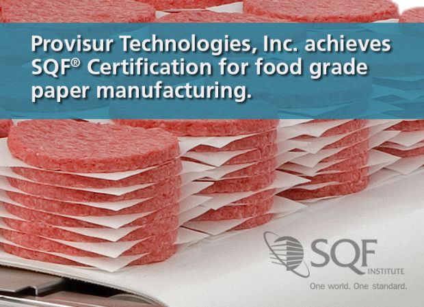 Provisur got an  'Excellent' along with SQF Certification.