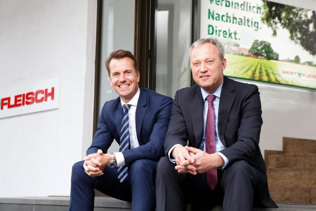 Carsten Schruck and Johannes Steinhoff are members of the Executive Board of Westfleisch SCE.