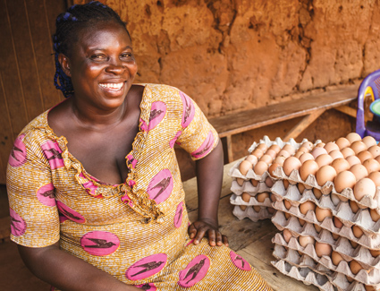 The program will engage women poultry farmers to tackle hunger and poverty through the power of poultry.