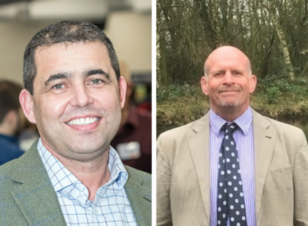 Nick Davies (left) replaces William de Klein in one of the four processor seats and farmer, Tim Bradshaw (right), completes the group of producers.