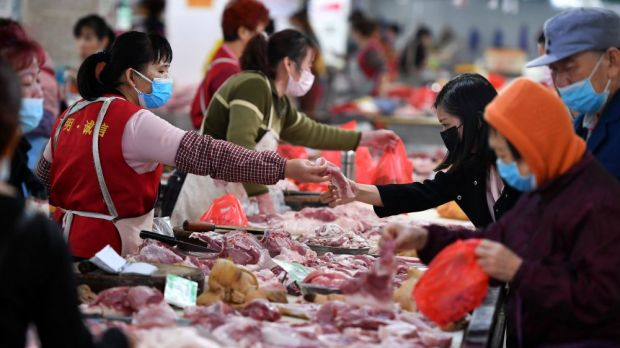 The high production losses in pork last year forced China to significantly expand imports.