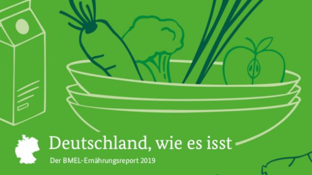 The Germans pay attention to a varied diet. They are eating and shopping more and more consciously - these are the most important findings of this year's nutrition report.