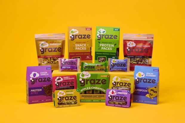 Graze is a technology-enabled healthy snacks brand that sells its products online, directly to consumers and in retail.
