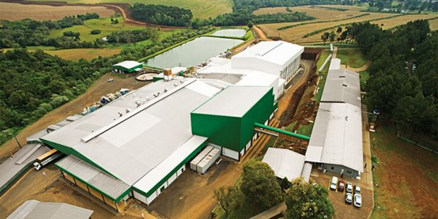 The company buys a 40% stake in the foods division of the Brazilian poultry company to continue its global growth strategy.