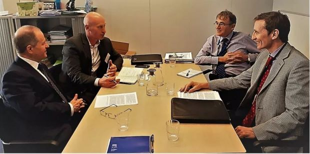 IFA National Livestock Chairman Angus Woods and IFA Brussels Director Liam MacHale met with senior officials from Commissioner Hogan's Cabinet in Brussels to discuss the details package announced.