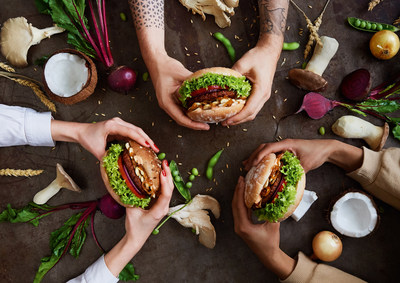 Restaurant chain Hans im Glück introduces innovative vegan burgers.