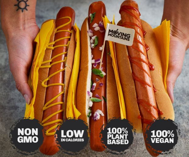 The company has expanded its plant-based product range with a hot dog that not only resembles real meat, but also tastes like it.