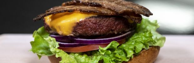 Nestlé now offers all the main ingredients for a vegan cheeseburger in its own range.