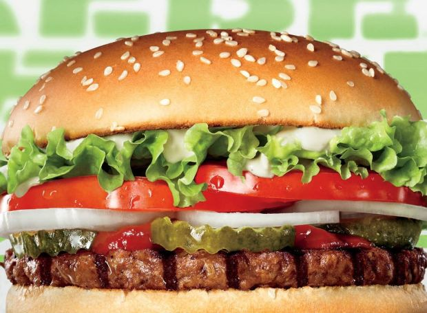 The restaurant chain's unveiling of the Rebel Whopper followed the successful launch of its Impossible Whopper in the US last year.