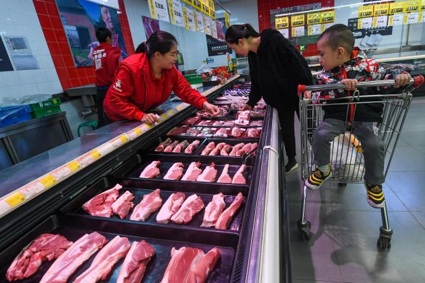 Retail prices rose 78% Month-on-Month in September in China.