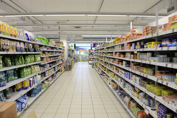 The consumer prices for food in Germany increased in 2019.