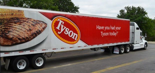 Tyson is one of the world's largest food companies.