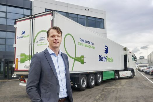 The company commits to a more sustainable logistics process.