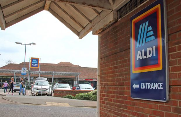 Aldi is Britain's fifth largest supermarket with 880 stores and more than 34,000 employees.