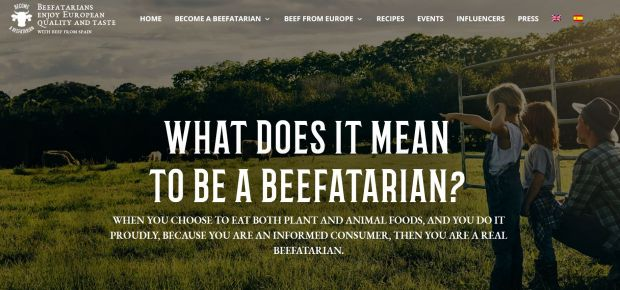 "The European Commission is supporting the campaign ""Become a Beefatarian"" with a budget of € 4.5 mill. from 2020 to 2022."