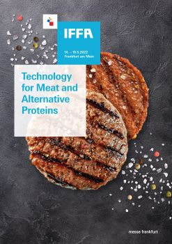 With the new sub-title, 'Technology for Meat and Alternative Proteins', the world's leading trade fair for the sector will spotlight the rapid growth of meat alternatives .