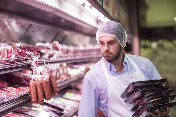 Processed sales have surged as well since the onset of coronavirus, with sausage, frankfurters and bacon more than doubling sales several weeks in a row.