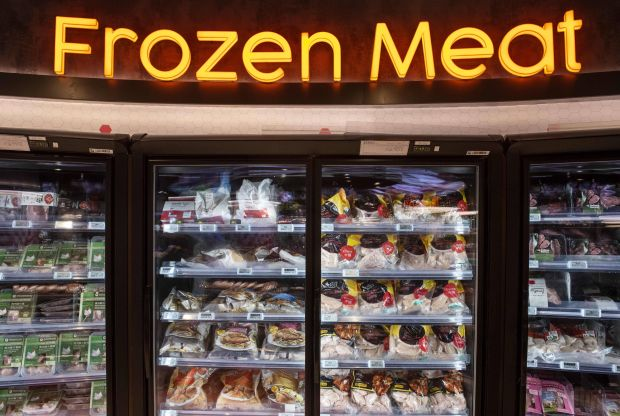Frozen meat is indeed a backup for many consumers.